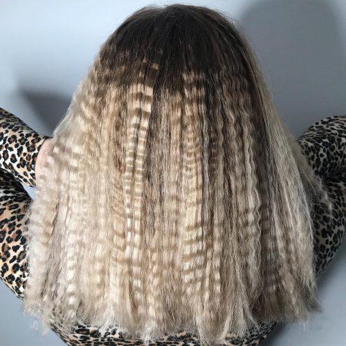 Grands Cheveux Froissés