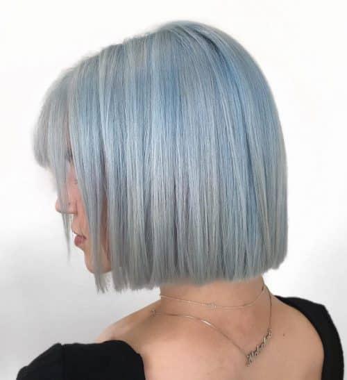 Bleu glacier délavé