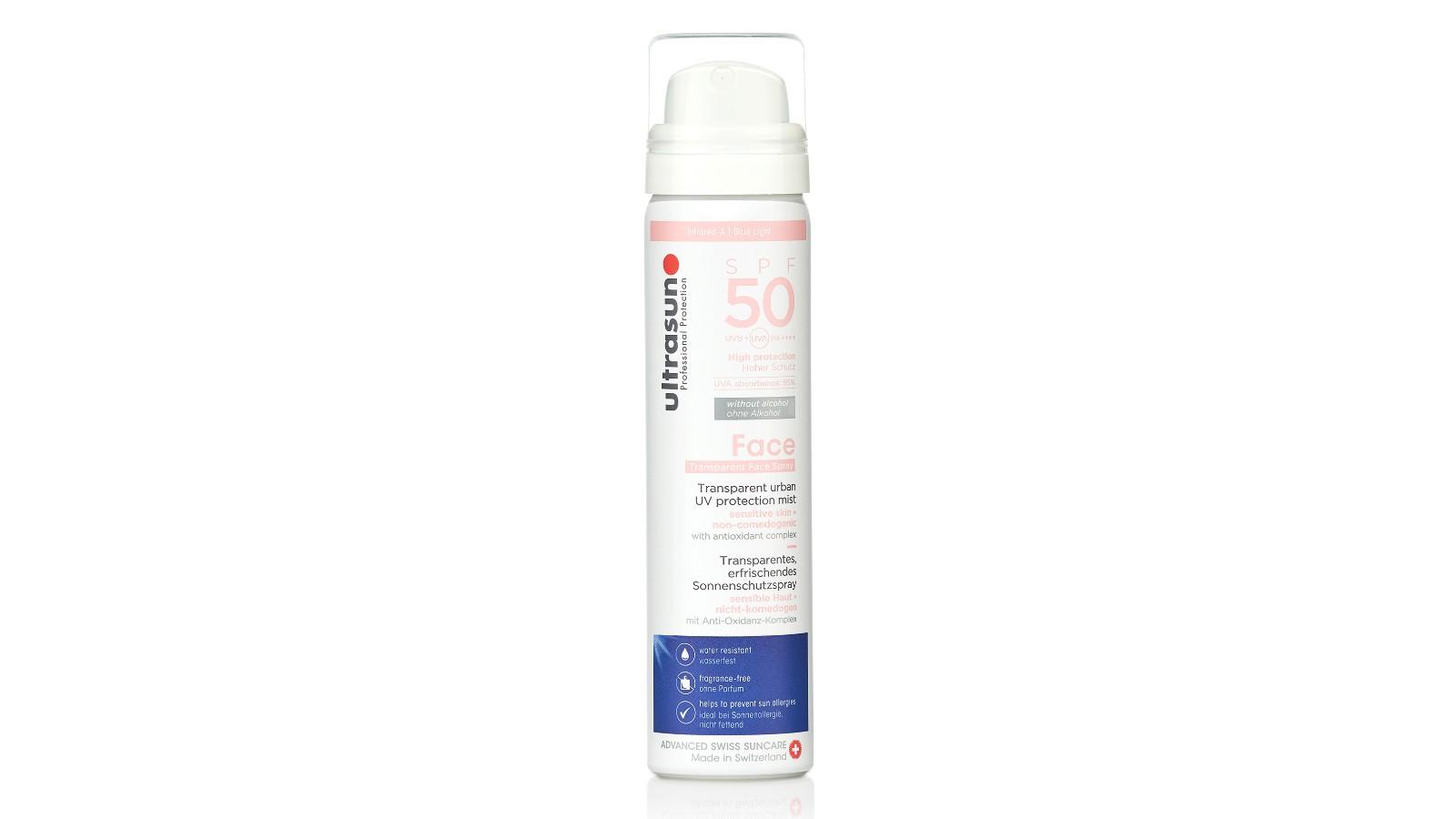 Brume visage et cuir chevelu Ultrasun UV