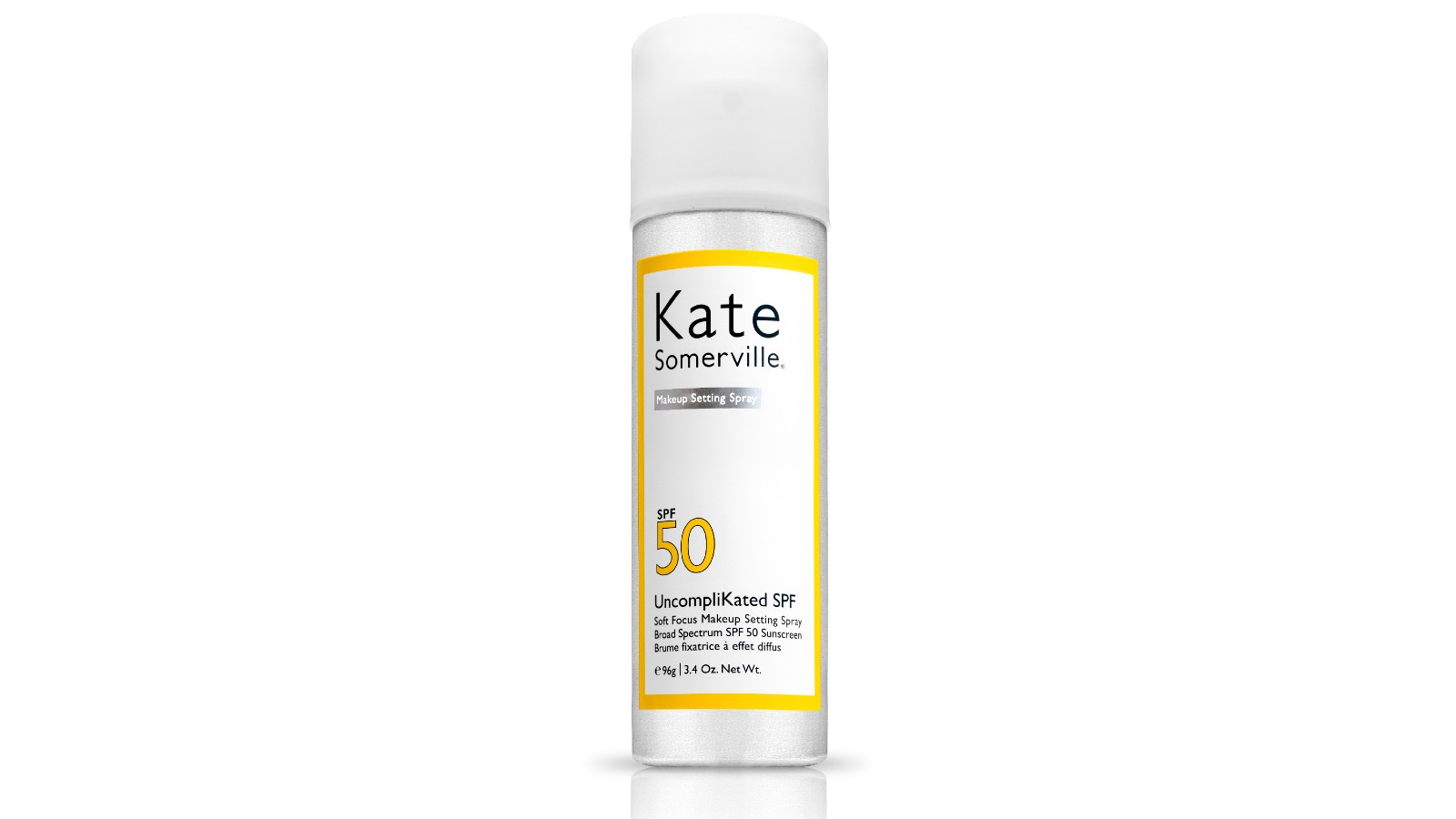 Spray fixateur de maquillage UncompliKated SPF50 Soft Focus de Kate Somerville
