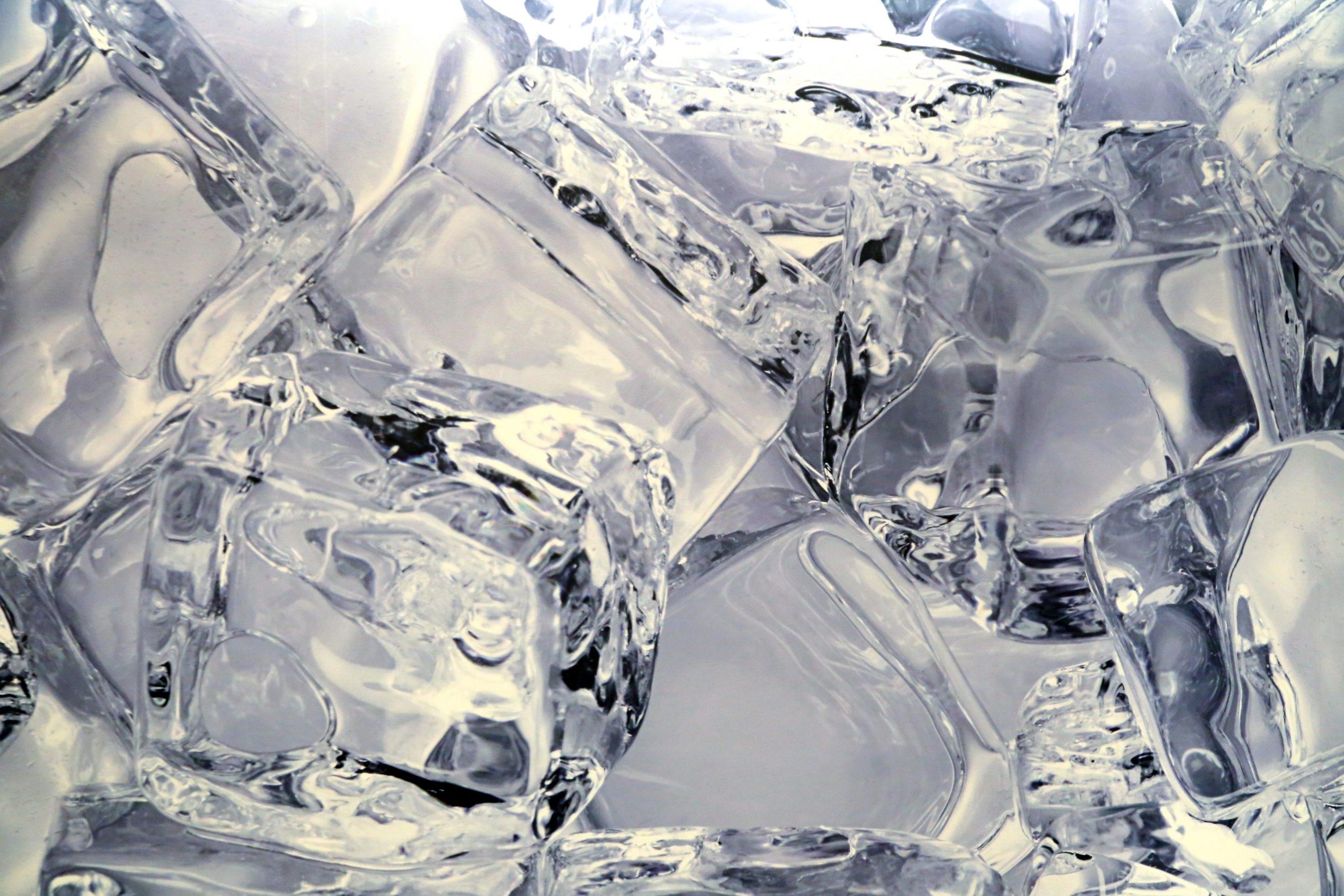 La glace aide à vous rafraîchir pendant la nuit