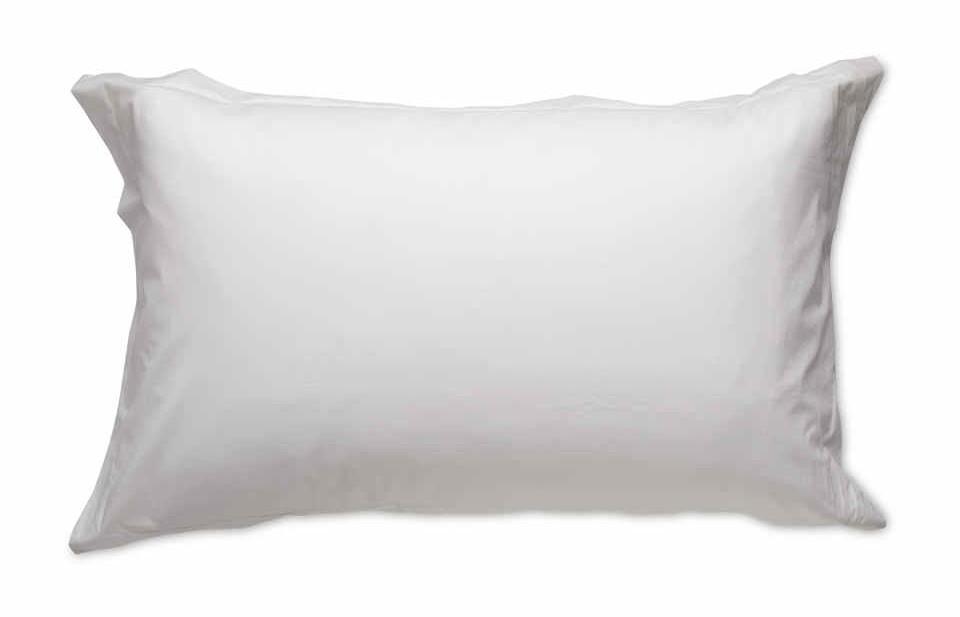 Aldi - Paire de taies d'oreiller blanches rafraîchissantes