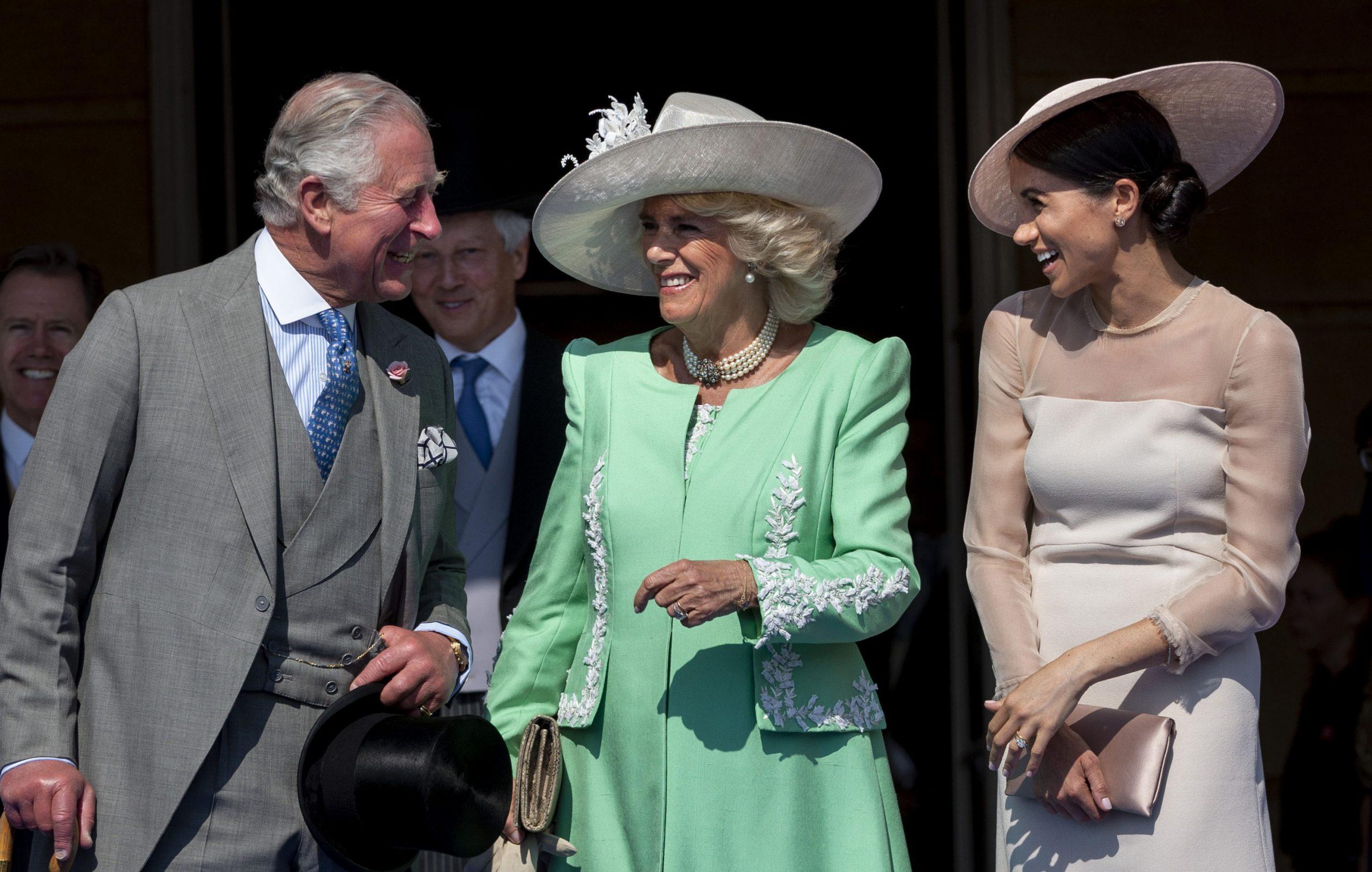 Prince Charles, Camilla et Meghan Markle