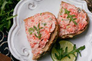 Recettes rapides de pâté de saumon en conserve