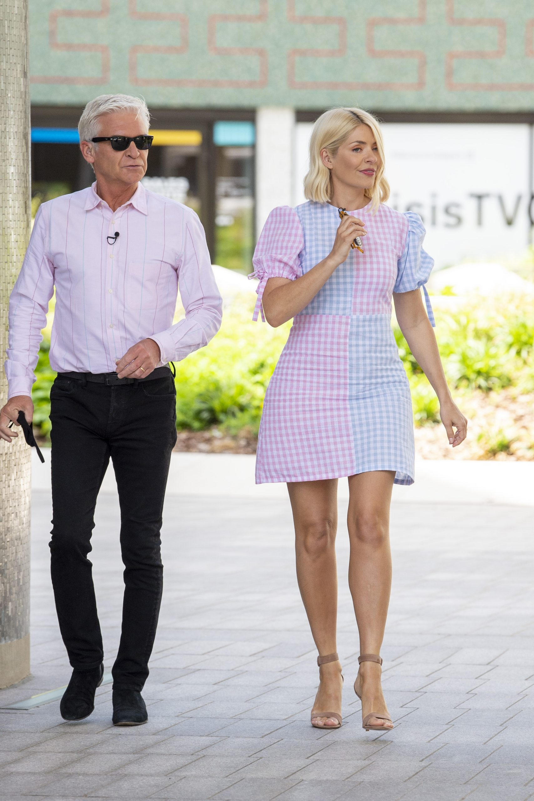 Phillip Schofield et Holly Willoughby, ce matin.