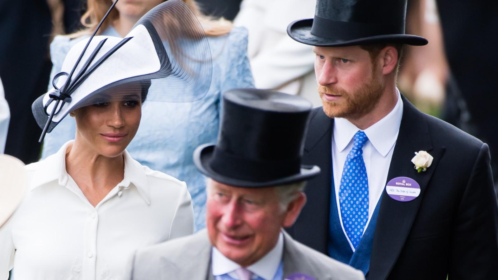 Prince Harry, Meghan Markle et Prince Charles
