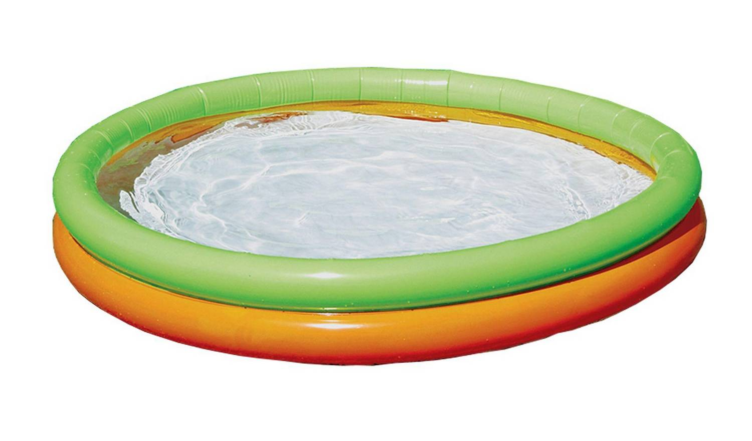 Piscine ronde pour enfants Chad Valley 4.2ft 2 Ring Paddling Pool