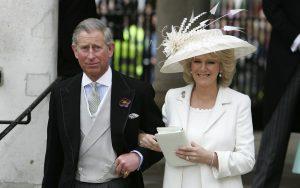 Le Prince Charles et Camilla le jour de leur mariage en 2005.