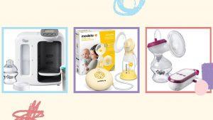 Produits d'alimentation pour bébés et tire-laits qui figurent dans la vente Amazon Prime Day 2021