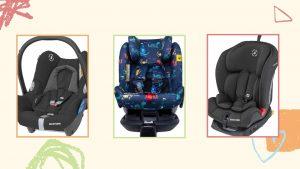 Sièges et porte-bébés vendus sur Amazon