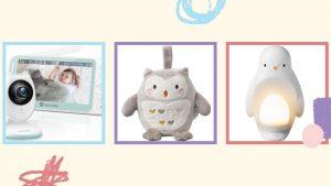 Écrans pour bébé et appareils d'aide au sommeil vendus sur Amazon