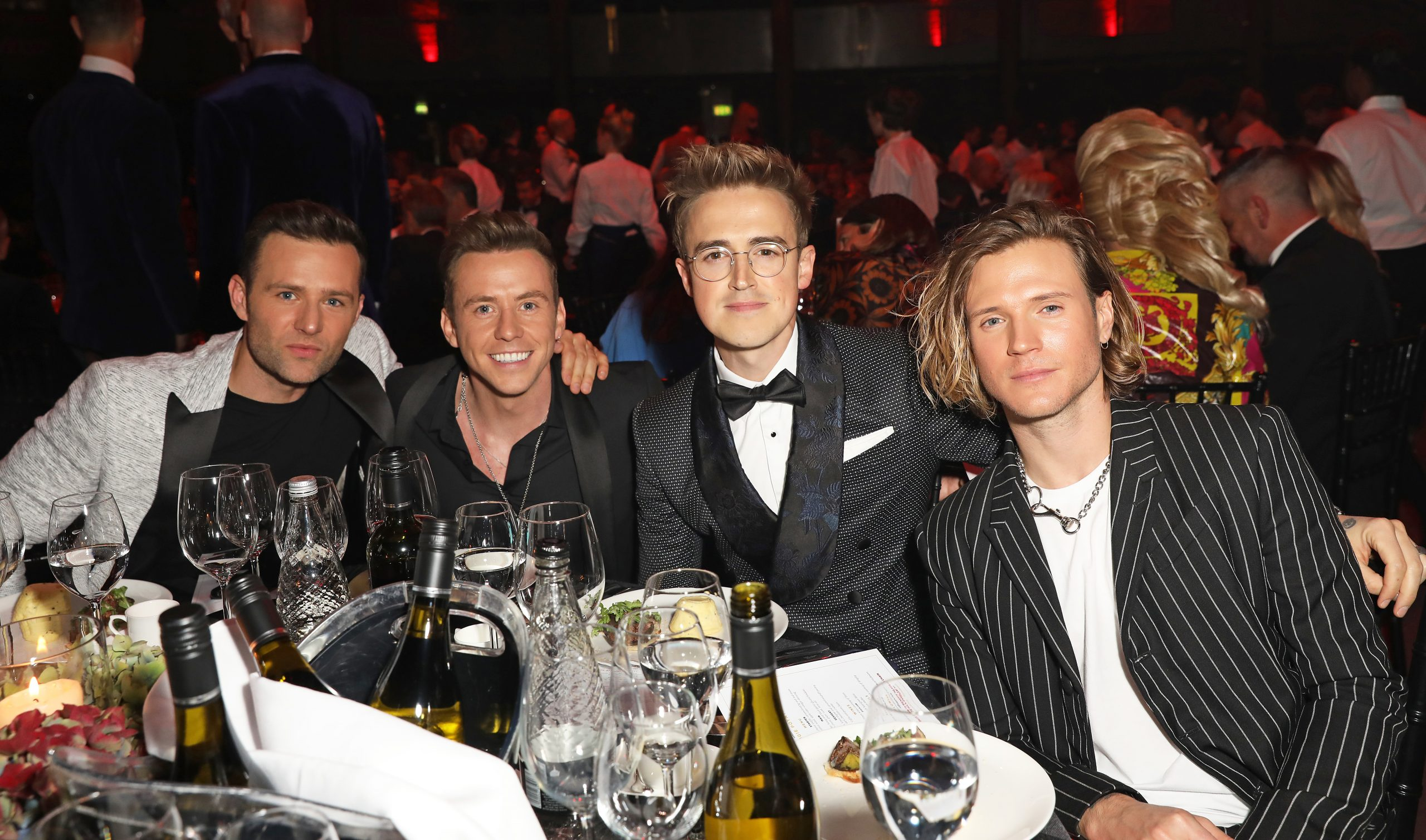 Tom Fletcher avec McFly