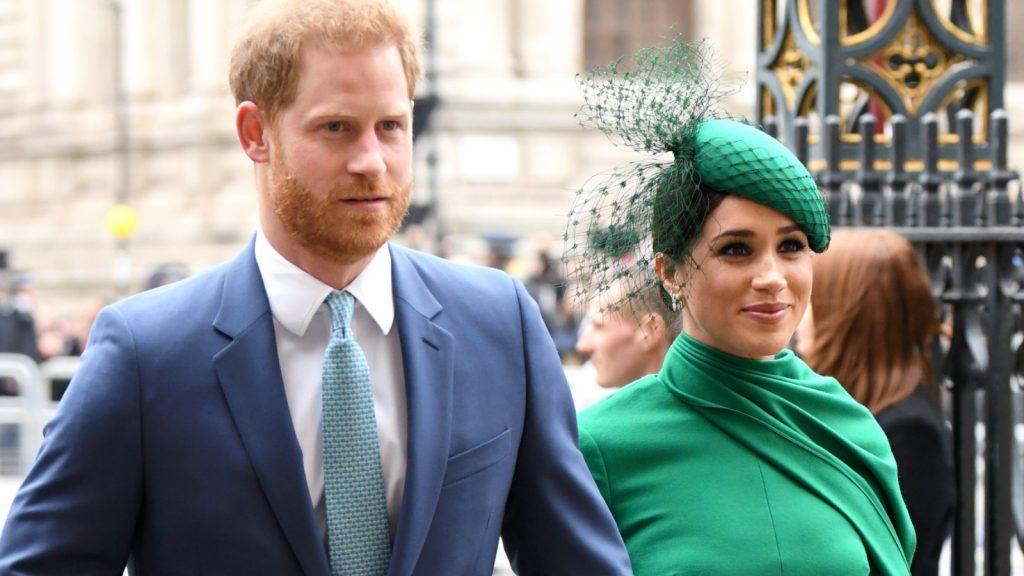 rince Harry, duc de Sussex et Meghan, duchesse de Sussex, assistent à la cérémonie du Commonwealth Day 2020