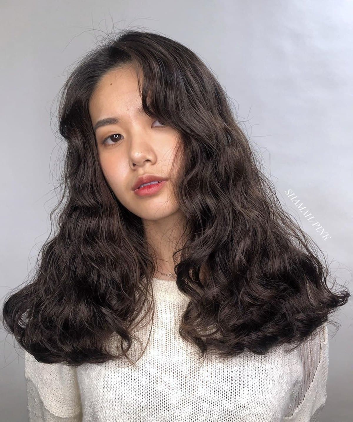 permanente big wavy curly