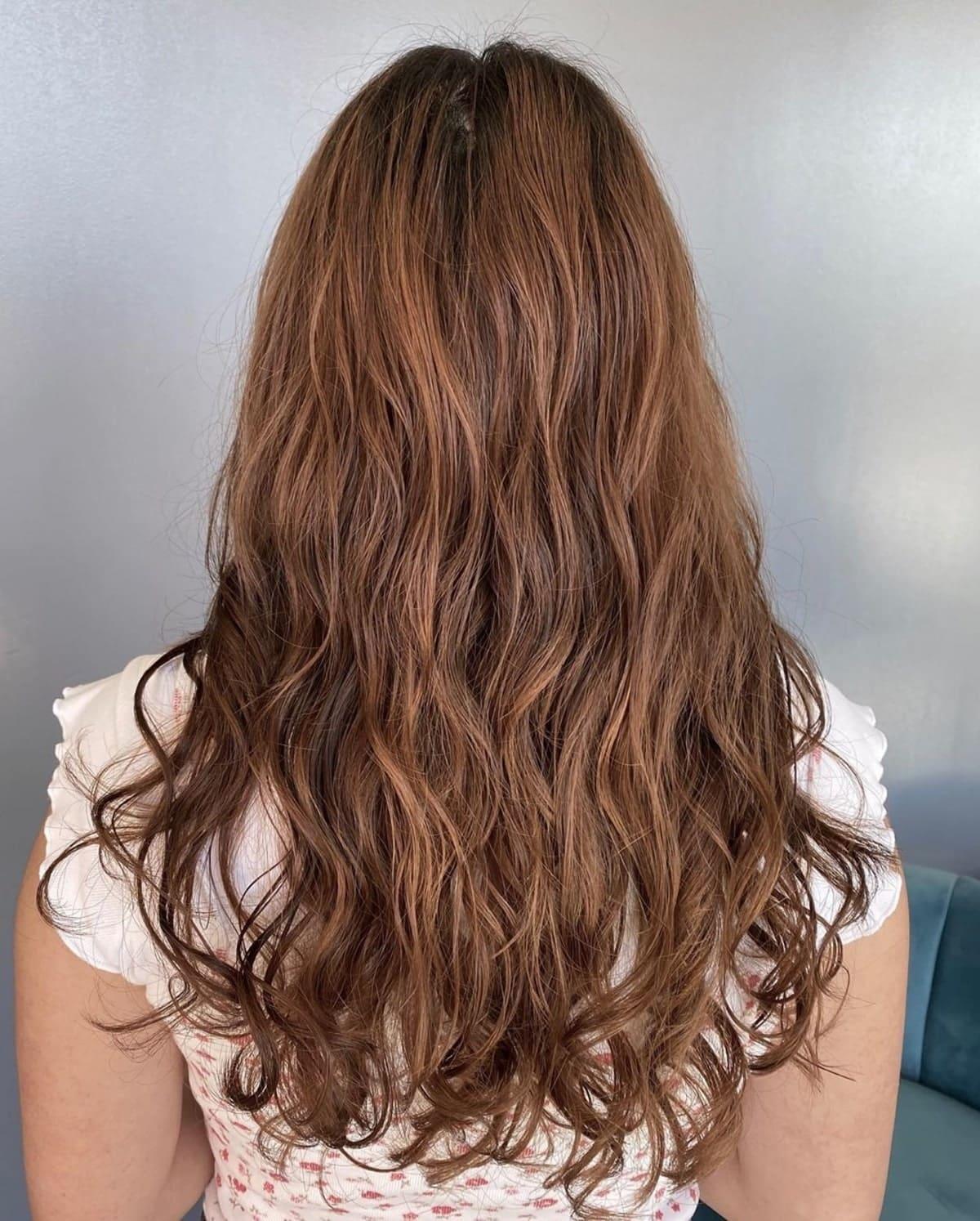 permanente numérique pour cheveux ondulés