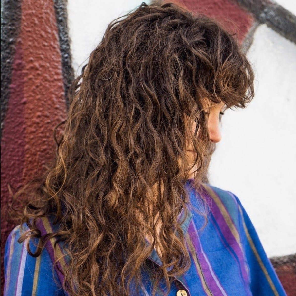 Perm pour les cheveux épais