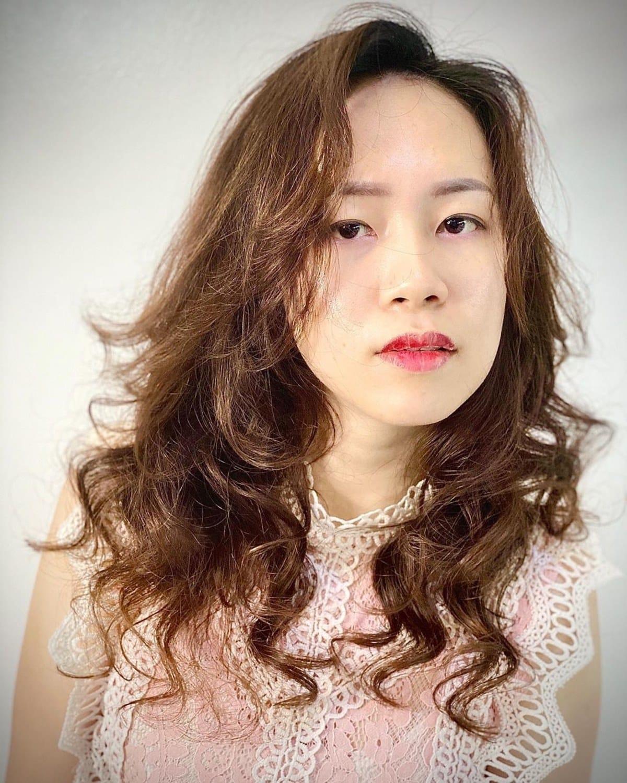 Cheveux Perm Asiatiques Doux