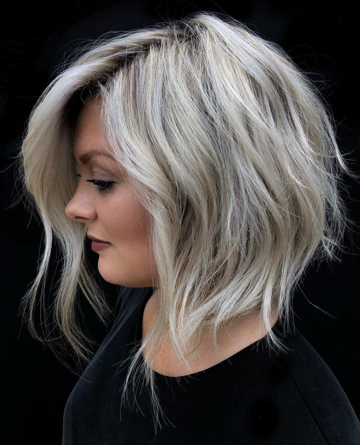Les cheveux blonds dégradés