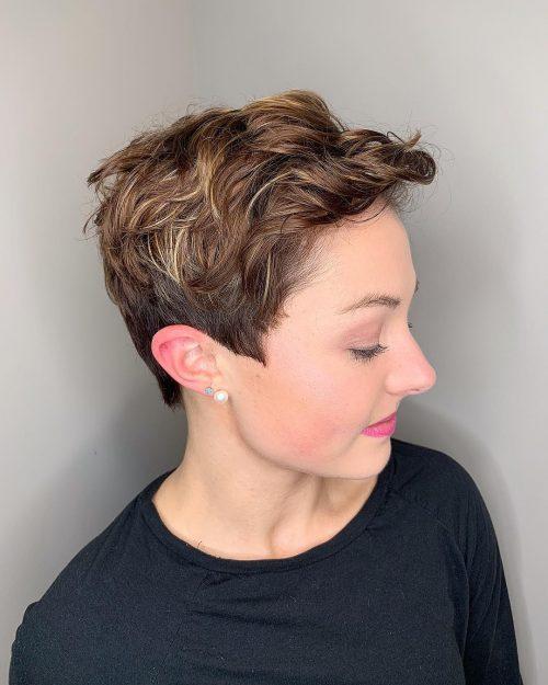 Pixie texturé pour cheveux fins