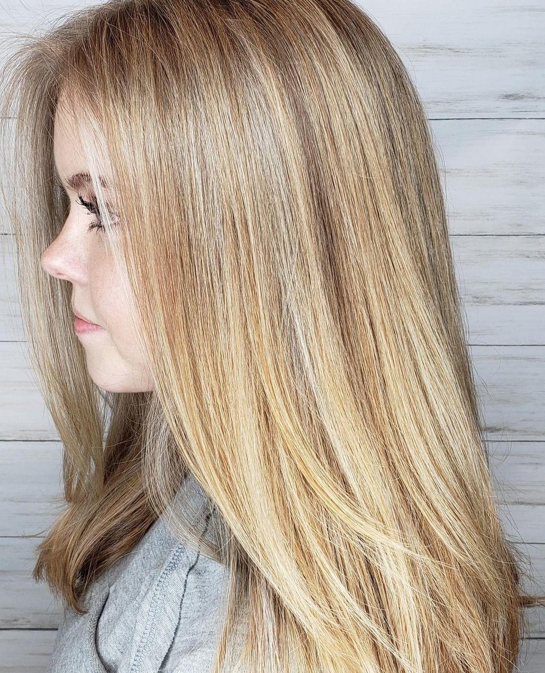 cheveux blond cendré doré clair