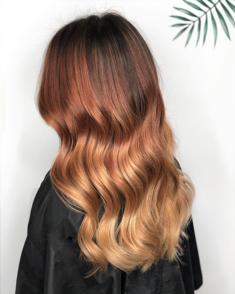 Coiffure Melted Auburn Waves