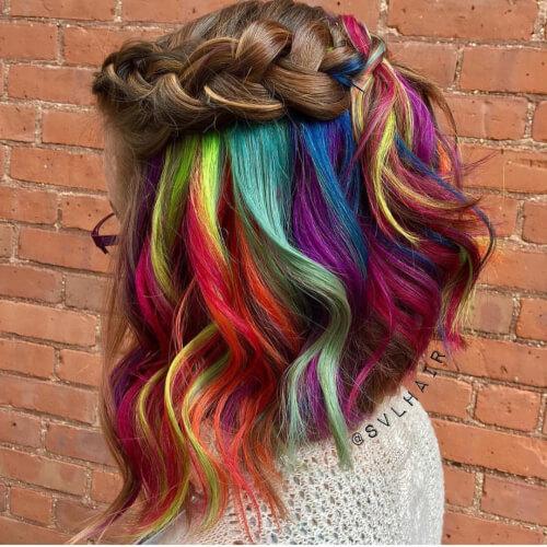 Vivid Rainbow Underlights