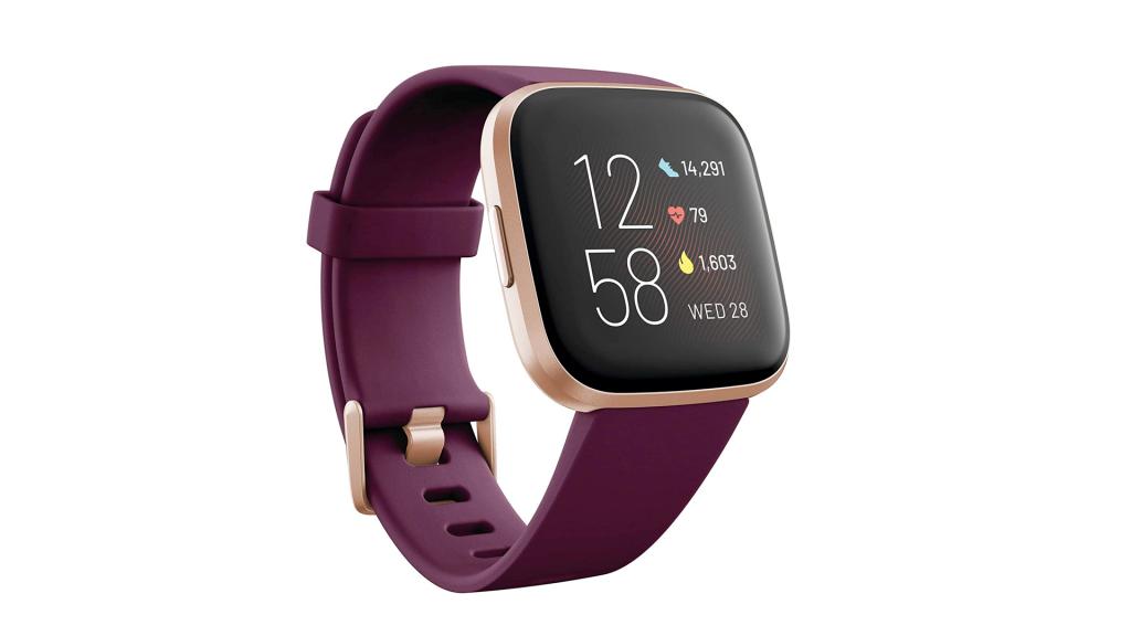 bordeaux fitbit smartwatch
