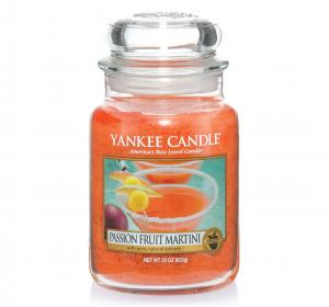 Bougie parfumée Yankee Bougie Fruit de la Passion Martini Grand Pot