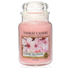 Bougie parfumée Yankee Candle Cherry Blossom - Grand pot de bougie
