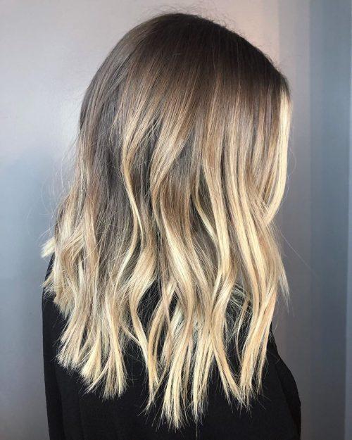 Blond Ombre mi-longueur