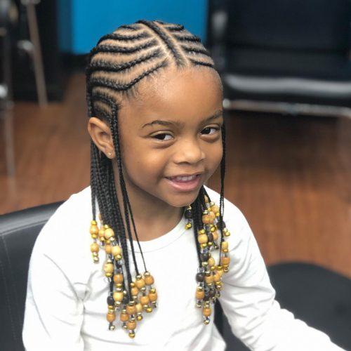 coiffure tresses cornrow pour enfants
