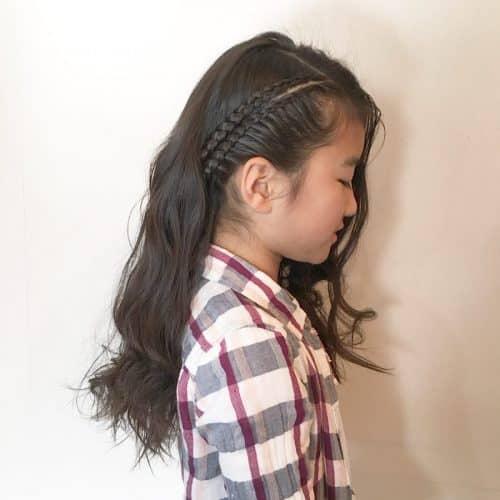 coiffures tressées rapides pour enfants