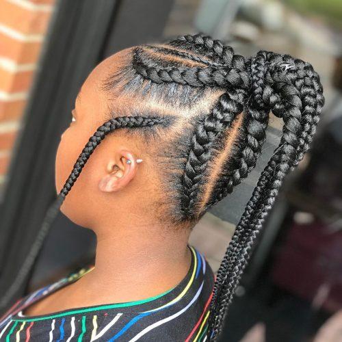 coiffure tresse weave pour enfants