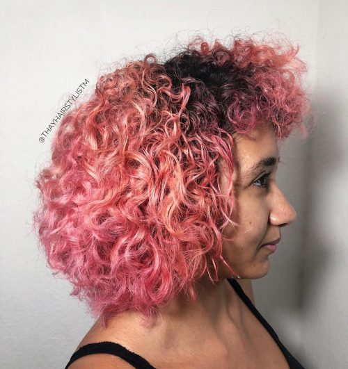 Ombre or rose