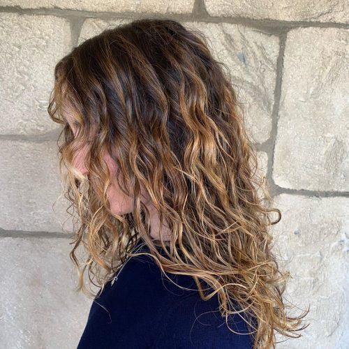 Ombre brun à blond