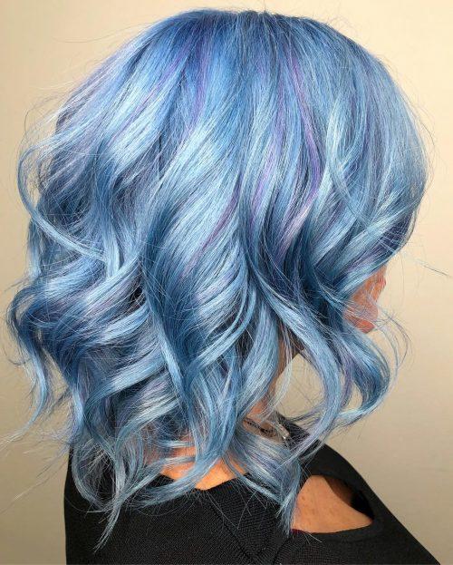 Bleu et Lavande