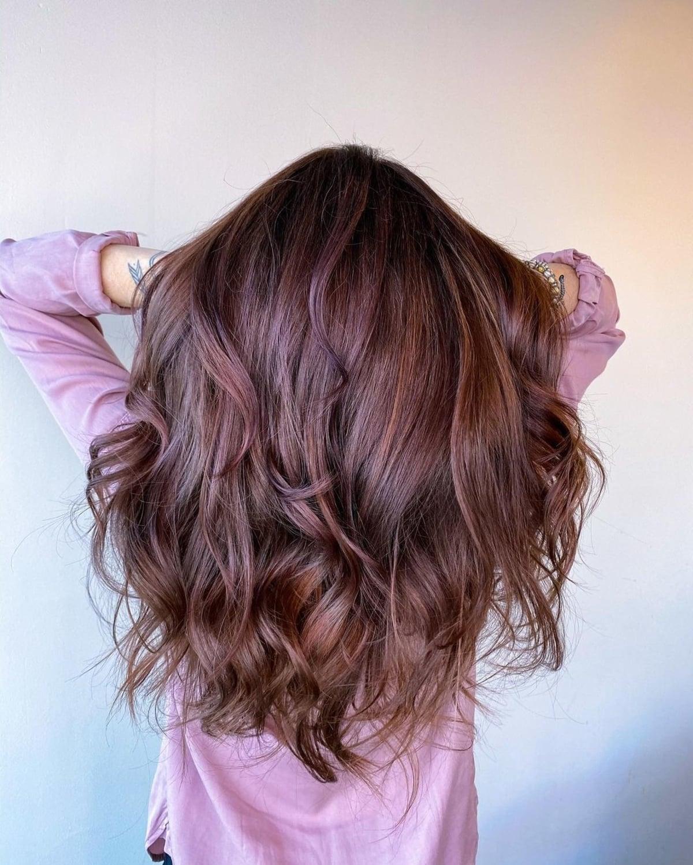 Couleur rose violet