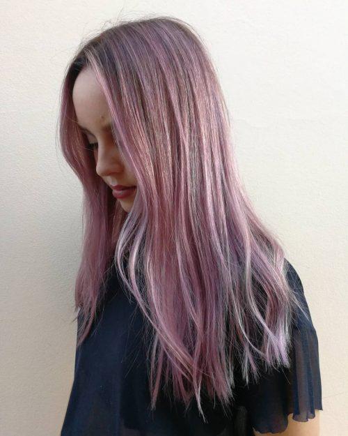 Rose Violette Pastel