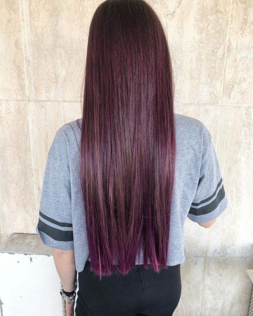 Violet rouge foncé