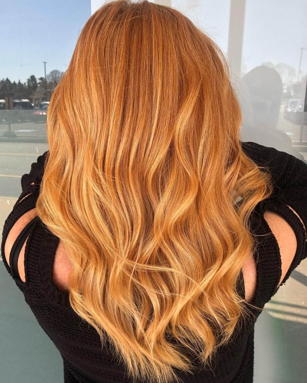 Bright Strawberry Blonde