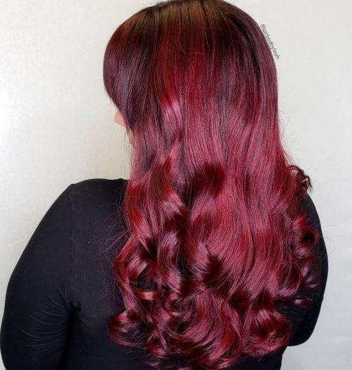 Violet rouge vif