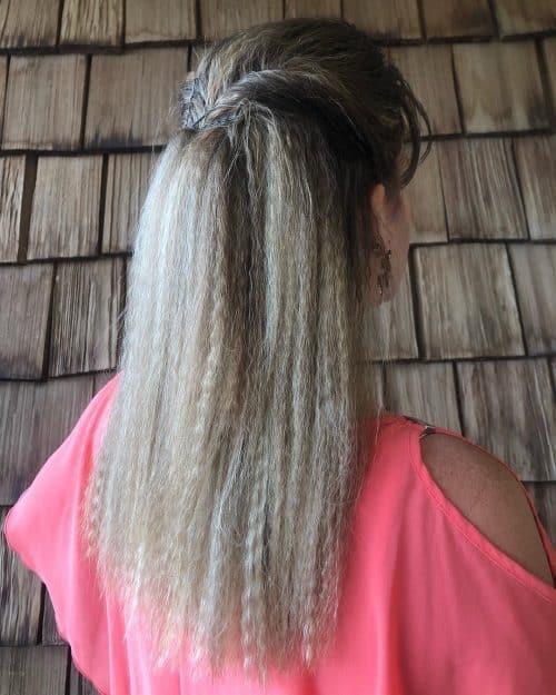 Frisure des cheveux longs