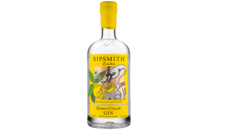 Gin Slipsmith lemon drizzle