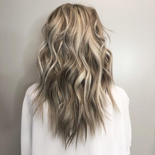 De blond à brun foncé