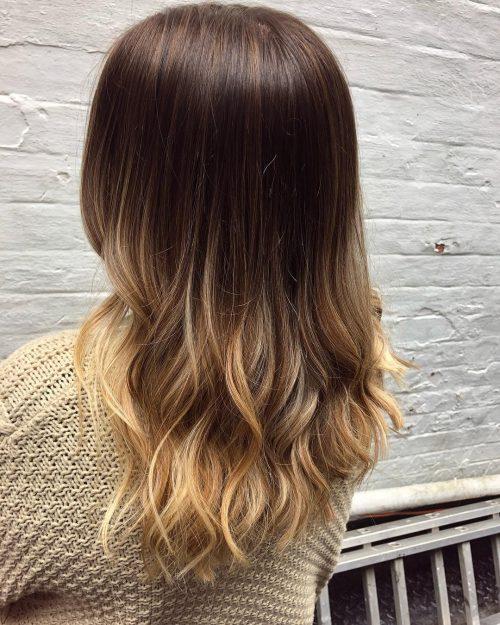 Du rouge-brun au blond