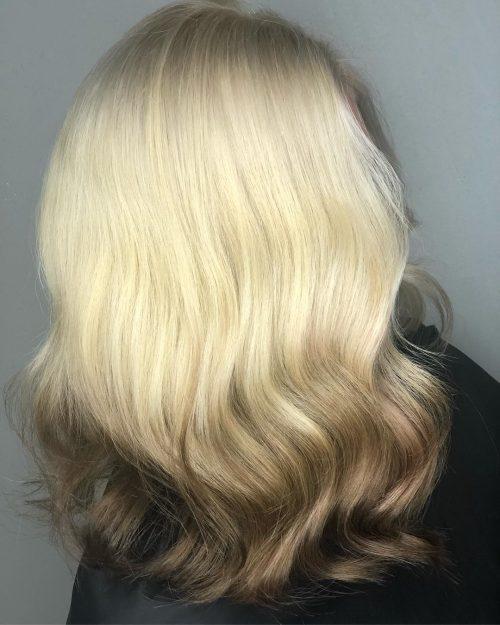 Blond clair à foncé
