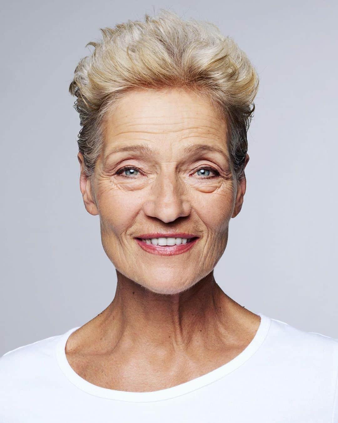 Coiffure courte et tendance pour les femmes de plus de 70 ans
