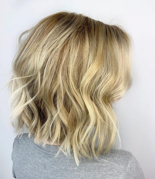 Bob long blond