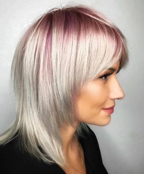 argent or rose ombre
