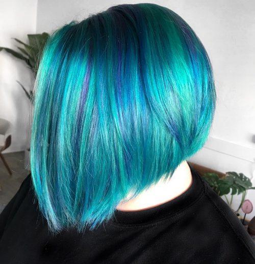 Sarcelle et bleu royal